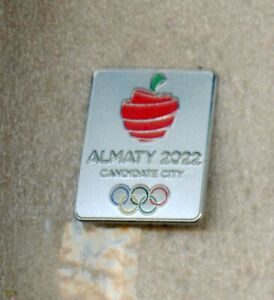 2022 ALMATY Candidate City Winter OLYMPIC Games Bid Pin