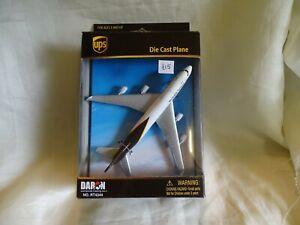 UPS 747 diecast  plane by Daron