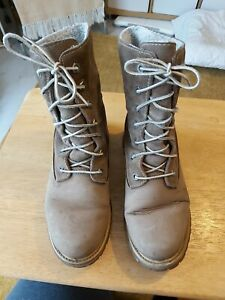 Womens Brown Timberland Boots Size 7