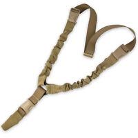 Bulldog CQB Bungee Tactical Military Airsoft Rifle Gun Weapon Sling Coyote