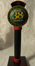 """580 - Rare NORTH COAST BREWING """"Old No. 38 Stout"""" Beer Tap Handle 9"""""""
