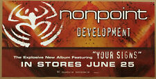 Nonpoint Rare 2002 Promo Poster w/ Release Date for Development Cd 24x12 Usa