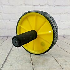 New listing GOLDS GYM Dual Wheel Exercise AB Wheel Abdominal Exercise Machine Roller