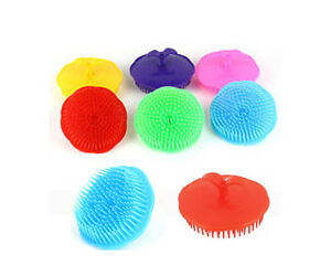 New 1pc Shampoo Scalp Shower Body Washing Hair Massage Massager