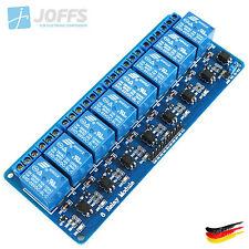 8-Kanal 5V Relais Modul mit Optokoppler für u.a. Arduino (8Ch Active-Low)