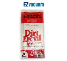 Dirt Devil Central Vacuum CV950 Cleaner Vacuum Bags- 3 Pack # 7767-W, 7767w,9597
