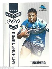 2014 NRL Traders Milestone (M11) Anthony TUPOU Sharks