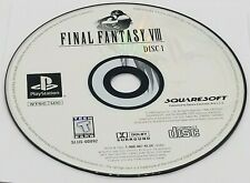DISC #1: Final Fantasy VIII (Sony PlayStation, 1999) PS1 BLACK LABEL REPLACEMENT
