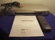 Sony DVP-D363 CD/DVD Combo Player w Remote & Manual Tested & Working