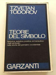 Teorie Del Simbolo Todorov Garzanti