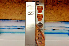 it Cosmetics CC+ Cream SPF 50 in Light  - Travel Size .406 oz. - New in Box