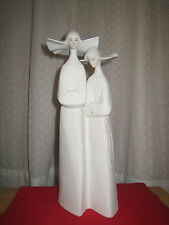 Lladro Porcelain Sculpture STANDING NUNS PORCELAIN FIGURINES~ wonderful gift