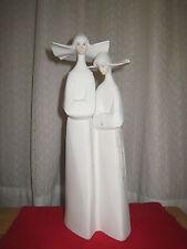Lladro Porcelain Sculpture STANDING NUNS PORCELAIN FIGURINES~ wonderful gift
