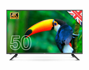 """CELLO 50"""" INCH 4K LED TV FREEVIEW HD, 3 x HDMI & USB  - MADE IN UK BRAND NEW"""