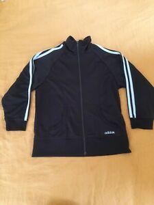 Adidas Sweatshirt Jacket Black 12 Unisex