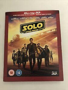 star wars solo dvd 3D Blu Ray