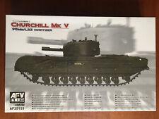 Churchill Mk V 95mm - AFV Club - 1/35 scale unassembled AFV kit#AF35155