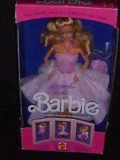 ♥ NRFB TOP Vintage 1989 Super Star Ära Lovely Lavender Locks so many way Barbie