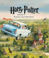 Harry Potter und die Kammer des Schreckens (vierfarbig illustrierte Schmuckausgabe) (Harry Potter 2) von Joanne K. Rowling (2016, Gebundene Ausgabe)