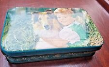 Vintage Confectionery Tin box Adv.Baby Child with dog Lovely image India 1980