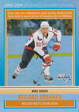 09/10 O-PEE-CHEE OPC RECORD BREAKER #RB7 MIKE GREEN CAPITALS *3059