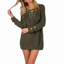 New Women Long Sleeve Knitted Sweater Tops Loose Cardigan Outwear Coat Oversized