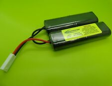 9.6v 1400mA NUN-CHUCK BATTERY PACK FOR AIRSOFT ICS GUNS / MADE IN USA