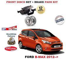 für Ford B-Max B Max alle Modelle 2012- > NEU Vorderbremse Scheibensatz +