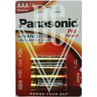 Panasonic Pro Power Batterie AAA Micro LR03 LR03PPG, 4er Pack