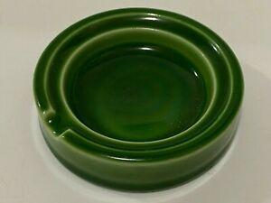 Rockwood Arts & Crafts Pottery Ashtray 1933 Green Mold # 6348B