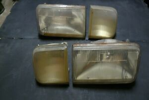 Merkur XR4Ti Headlight assembly lens set