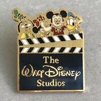 WALT DISNEY WORLD 1987 The Walt Disney Studios Pin Mickey Minnie Donald Goofy