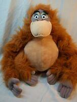 "Walt Disney World The Jungle Book KING LOUIE ORANGUTAN 20"" Plush STUFFED Toy"