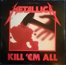 METALLICA Kill 'Em All MRI 069 ORIGINAL 1983 US LP *1st Silver Press* EX+