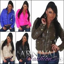 Nylon Puffer Coats & Jackets for Women