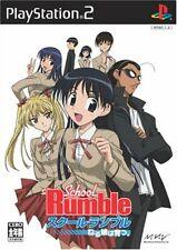 Usé PS2 PLAYSTATION 2 École Rumble Couchage Daughter 21961 Japon Import
