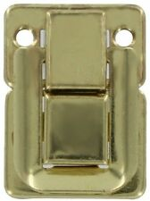 Brass Plated Drawbolt - antique chest, trunk steamer vintage old case briefcase