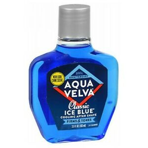 Aqua Velva Classic Ice Blue Cooling After Shave 3.5 oz