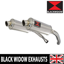 CBR 1000 F CBR1000F 4-2 EXHAUST SILENCERS SC24 OVAL STAINLESS FK-FX 89-99 300SS