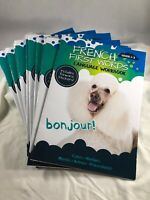 Lot of 10 Language Workbooks FRENCH 1st Words Grades 1-3 with Reward Stickers