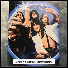 GFA x3 Neal Schon Rock Band * JOURNEY * Signed 11x14 Photo PROOF J5 COA