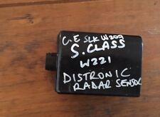 Mercedes Distronic Radar W221 W212 S E Class A2129003300