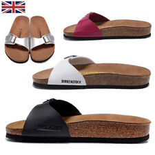Birkenstock Madrid Patent Birko-Flor Womens Sandal in Various Colours Size 3-9