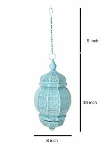 Moroccan Turkish Metal Ceiling Light Fixture Hanging Home Decor Lantern Lamps