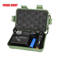 Super Bright CREE chips Q5 AA/14500 3 Modes ZOOMABLE LED Flashlight Torch Set UK