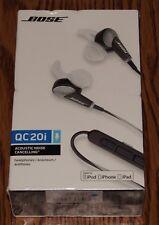 Bose QuietComfort 20i In-Ear Headphones Dark Gray 362544-0010 Brand New