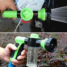 Portable High Pressure Car Wash Foam Water Soap Gun Washer Cleaning Sprayer Pipe