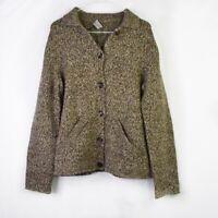 Philosophy di Alberta Ferretti Jacket Womens Size 10 Wool Knit Blazer Button