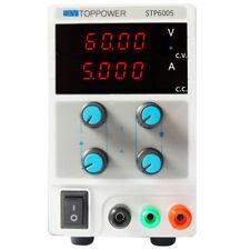 60v 5a DC Regulated Power Supply Adjustable Digital Variable Lab Grade 110/220v