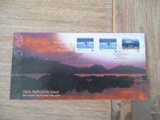 New Zealand 2004 fdc  Definitive Issue     full set of  stamps